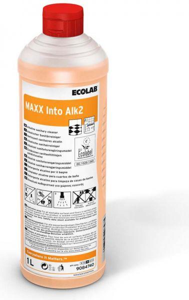 ECOLAB Maxx Into Alk2 Alkalischer Sanitärreiniger