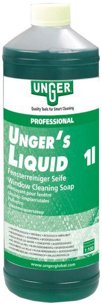 UNGER's Liquid Fenster-Reinigungsseife