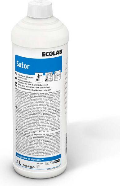 ECOLAB Sator Desinfizierender Sanitärreiniger