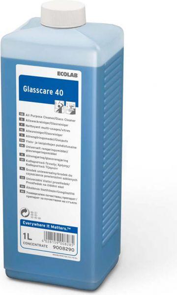 ECOLAB Glasscare 40 Hochkonzentrat Glas- und Allzweckreiniger