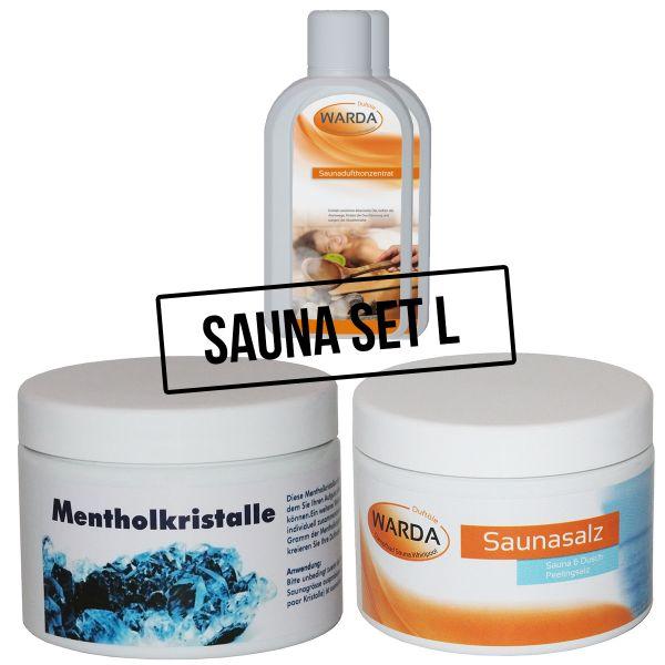 Sauna komplett Set L