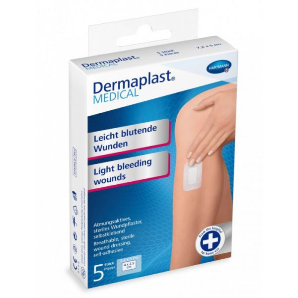 Dermaplast MEDICAL Wundpflaster für leicht blutende Wunden