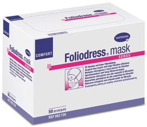 Foliodress Mask Comfort Senso OP-Masken grün
