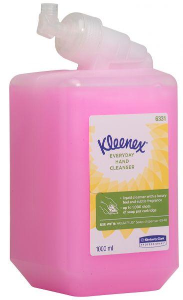 KLEENEX Normale Waschlotion pink parfümiert 6x1 Liter