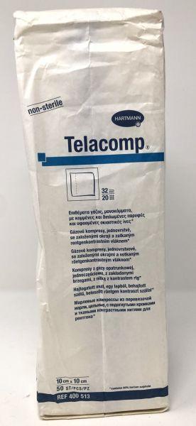 Hartmann Telacomp Mullkompressen 50 Stk. 10 x 10cm