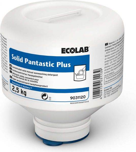 ECOLAB Solid Pantastic Plus Blockförmiges Handspülmittel