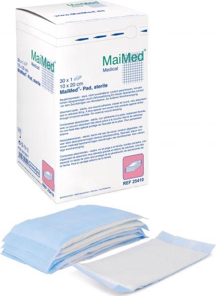 MaiMed Pad Saugkompressen 50er Pack B - Ware