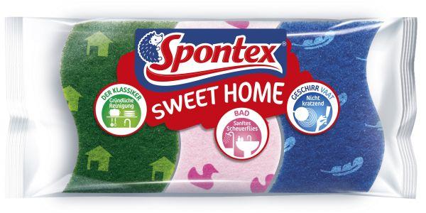 Spontex Schwamm-Set Sweet Home