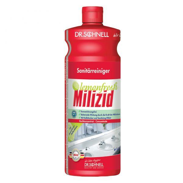 Dr. Schnell Milizid Lemonfresh bakterizider Sanitärreiniger