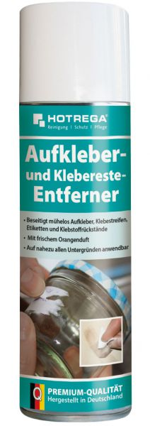 Hotrega Aufkleber- und Klebereste-Entferner, 300 ml Spraydose