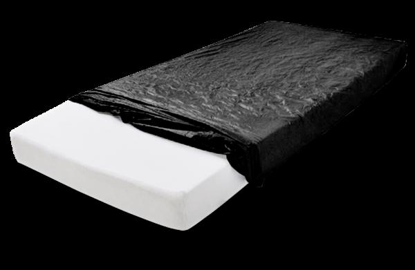 MaiMed Mattress Cover Einweg-Matratzenschoner 210 x 90 x 20 cm schwarz