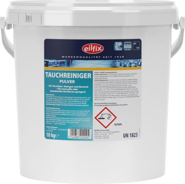 EILFIX Tauchreiniger für Porzellan, Steingut und Besteck