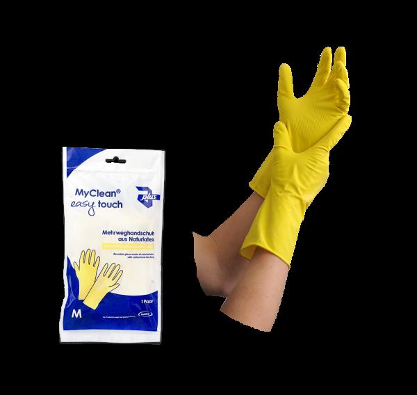 MyClean easy toch Mehrweghandschuh Naturlatex