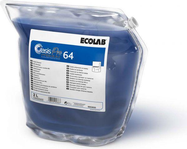 ECOLAB Oasis Pro 64 Premium/Toiletcare 64 WC-Reiniger