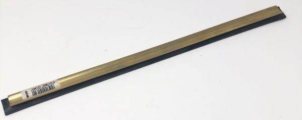 Unger Messingschiene, komplett mit Soft-Gummi. 45 cm