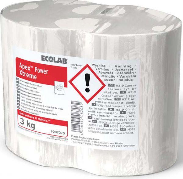 Ecolab Apex Power Xtreme, Hochkonzentriertes Maschinenspülmittel