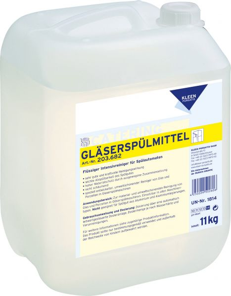 KLEEN PURGATIS Gläserspülmittel