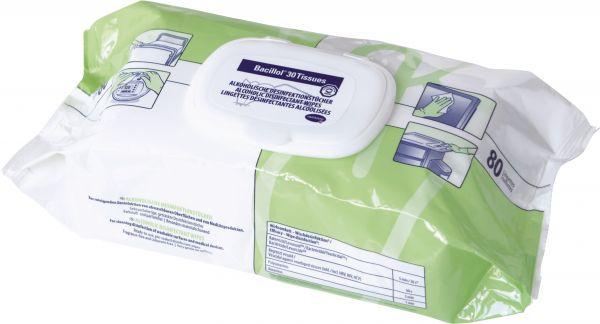 Bacillol 30 Tissues Geringalkoholische Desinfektionstücher