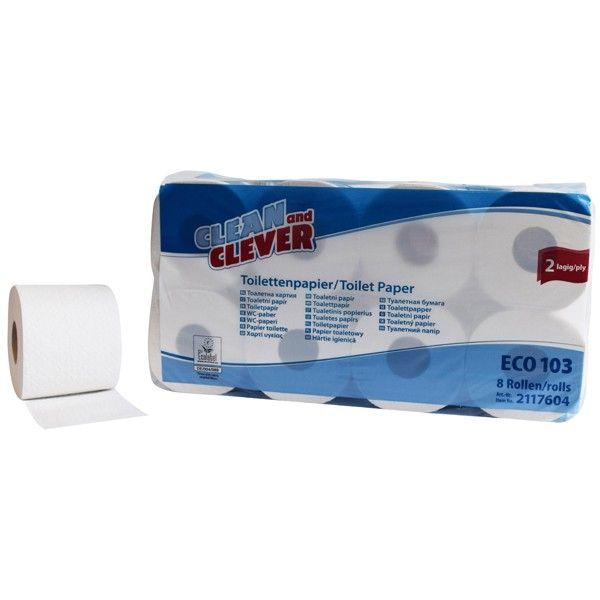 Toilettenpapier 2-lagig SMA103 Clean and Clever