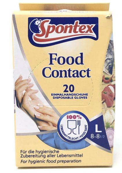 Food Contact Einmalhandschuhe L