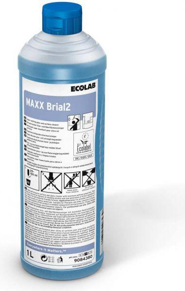 ECOLAB Maxx Brial2 Ultranetzender Glas- und Oberflächenreiniger