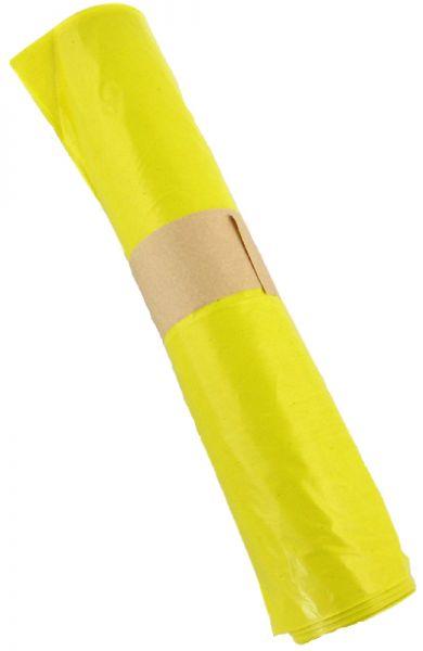 Müllsäcke 700 x 1100 mm, gelb, Typ 60 120 Liter