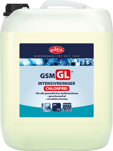 EILFIX GSM GL chlorfreier Intensiv Reiniger für Geschirrspülmaschinen