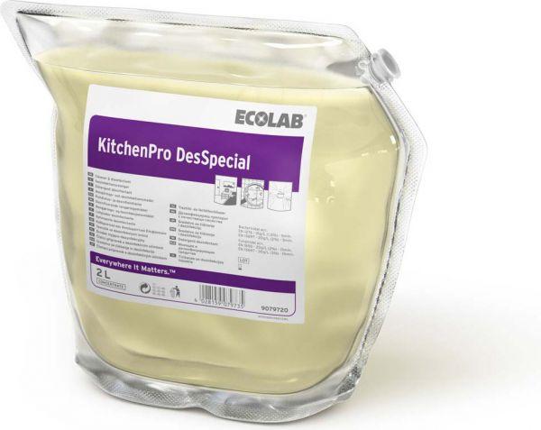 ECOLAB KitchenPro DesSpecial Hochkonzentrat kennzeichnungsfreier Desinfektionsreiniger
