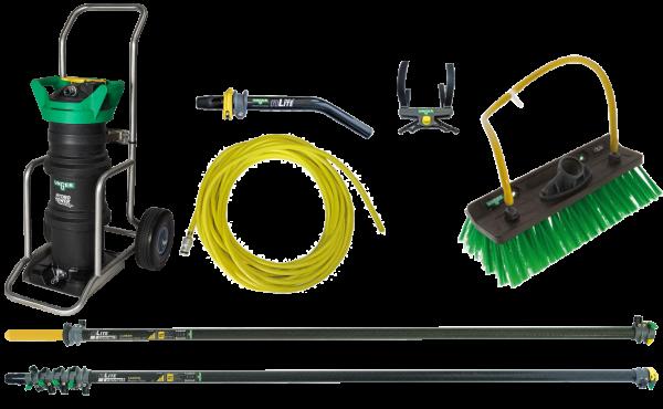 UNGER Reinwasser Set HydroPower® Ultra – Profi Karbon 10 m