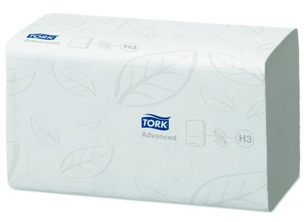 Tork Zickzack Handtuch weiß 2lg 290163