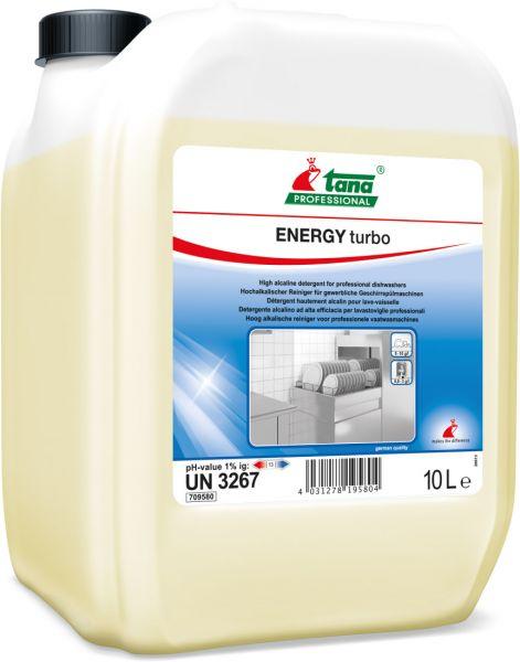 TANA energy turbo Hochalkalischer Reiniger für gewerbliche Spülmaschinen