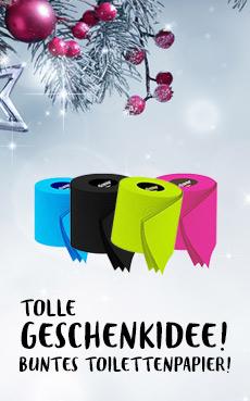 Buntes-Toilettenpapier