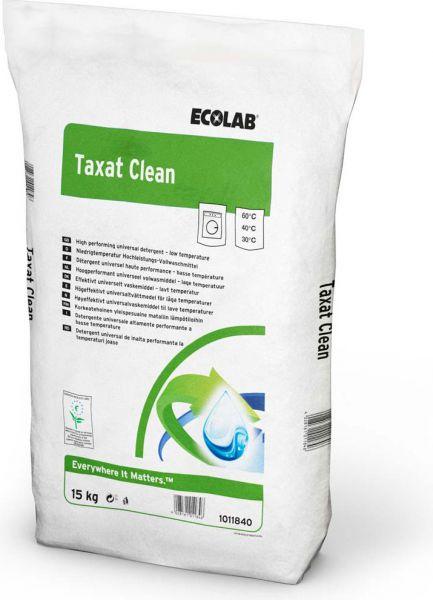 Ecolab Taxat Clean, Hochleistungs-Vollwaschmittel
