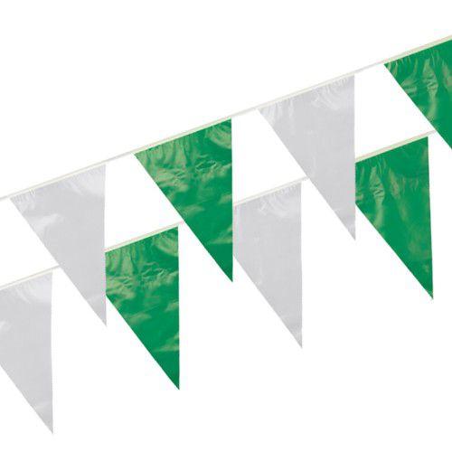 Papstar Wimpelkette Schützenfest 10 m Grün/Weiß