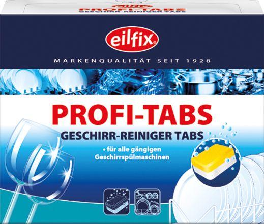 EILFIX Spülan Profi-Tabs für Haushaltsspülmaschinen