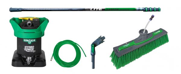 UNGER Reinwasser Set HydroPower® Ultra – Einsteiger Carbon 6 m