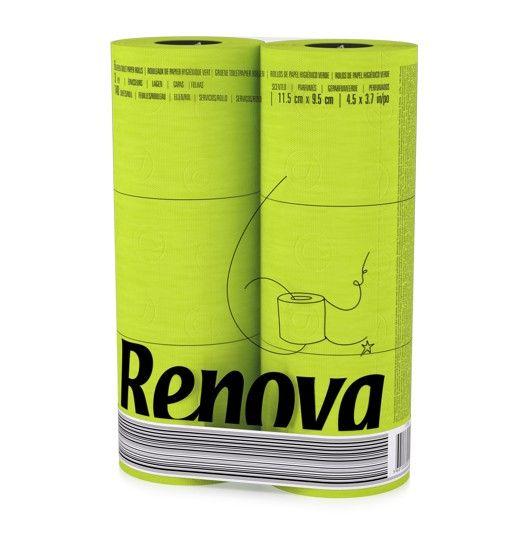 Grünes Toilettenpapier 6er Pack