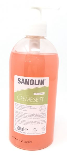 Sanolin Cremeseife 500 ml