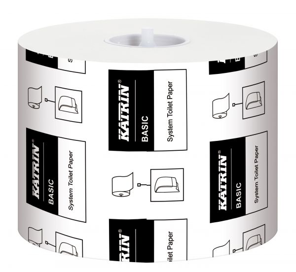 Katrin Basic System Toilettenpapier 1-lagig