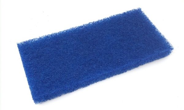 Floorstar Power Hand Pad blau,11,5x25 cm