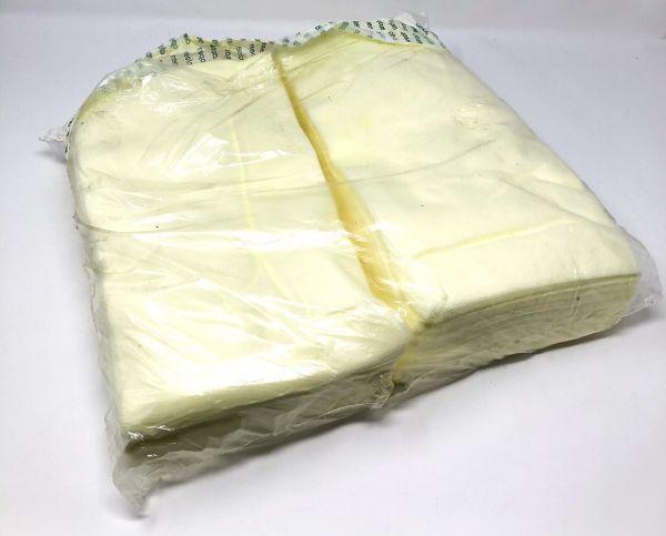 Staubbindetuch gelb, 100 stk, 60 x 30cm