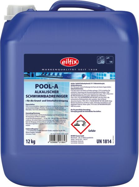 EILFIX POOL-A Schwimmbadreiniger alkalisch