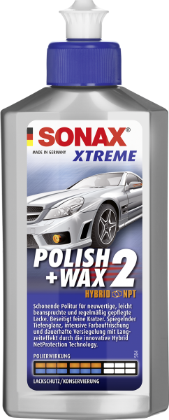 SONAX XTREME Polish+Wax 2 Hybrid NPT