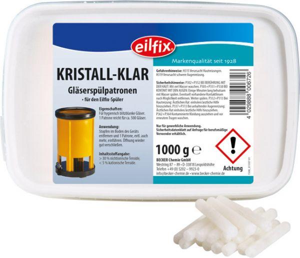 EILFIX Kristall-Klar Gläserspülpatronen 1 kg