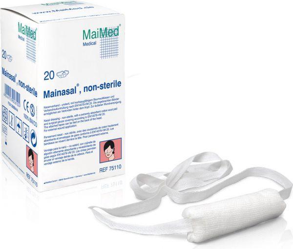 MaiMed Mainasal Nasenverband unsteril 7cm lang, Ø 3 cm