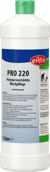 EILFIX PRO 220 Polymerverstärkte Wischpflege