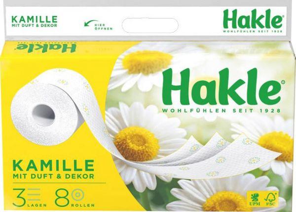 Hakle Kamille Toilettenpapier Großpackung