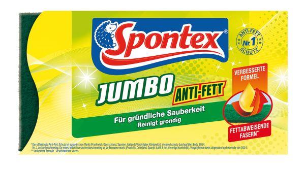 Spontex Jumbo Anti-Fett Reinigungsschwamm