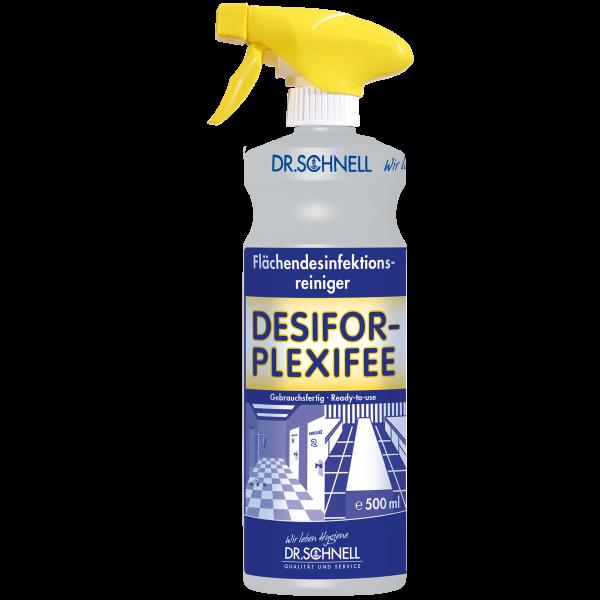 Dr. Schnell Desifor Plexifee Flächendesinfektionsreiniger für Plexiglas
