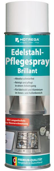 """Hotrega Edelstahl-Pflegespray """"Brillant"""", 500 ml Spraydose"""